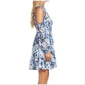 Eliza J Dresses - Eliza J cold shoulder dress